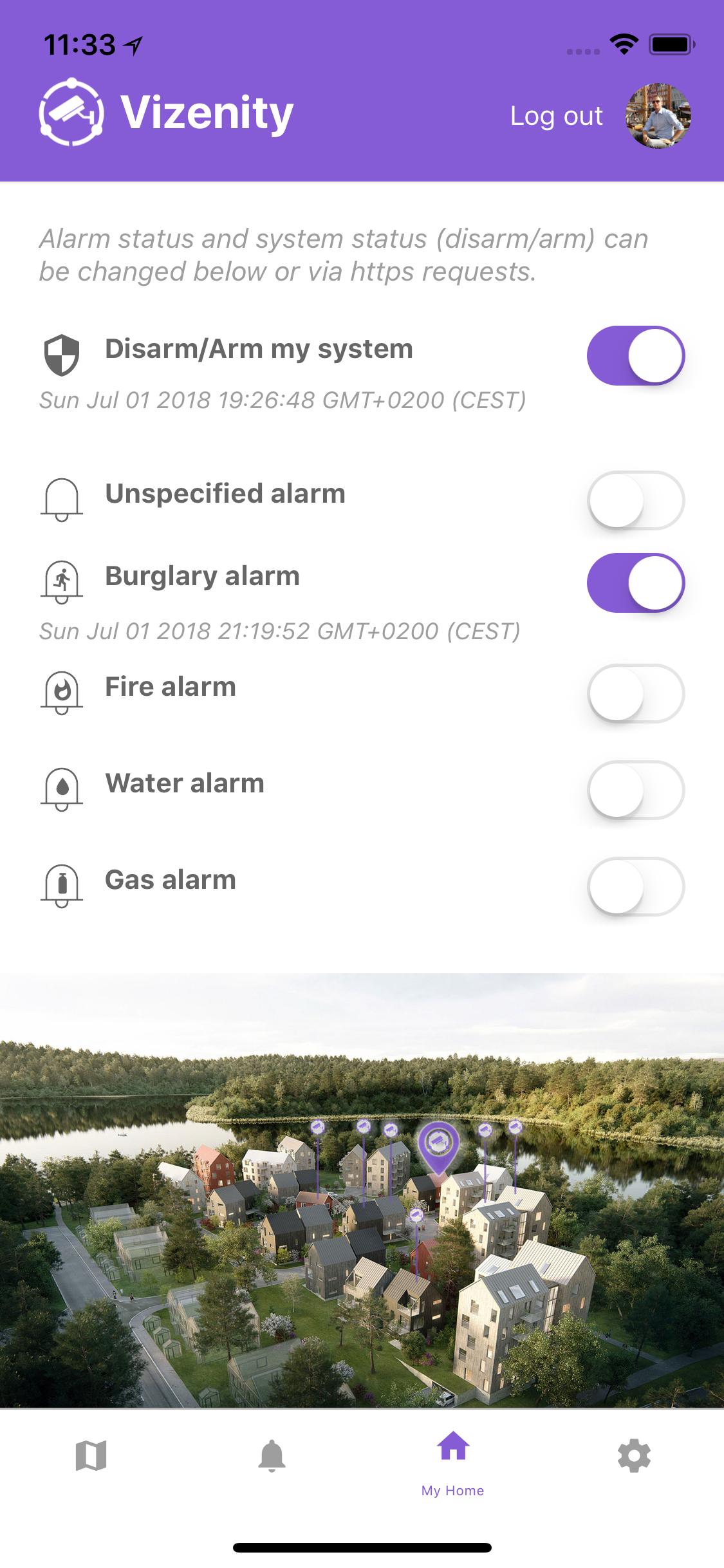 NeighborWatch app screen shot 4